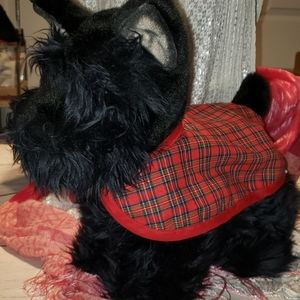 Scottish Terrier super plush with removable Coat